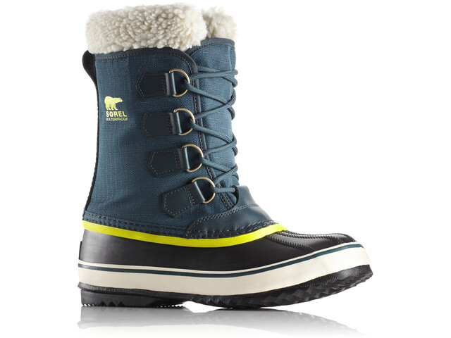 Sorel Winter Carnival Boots Dam dark seas